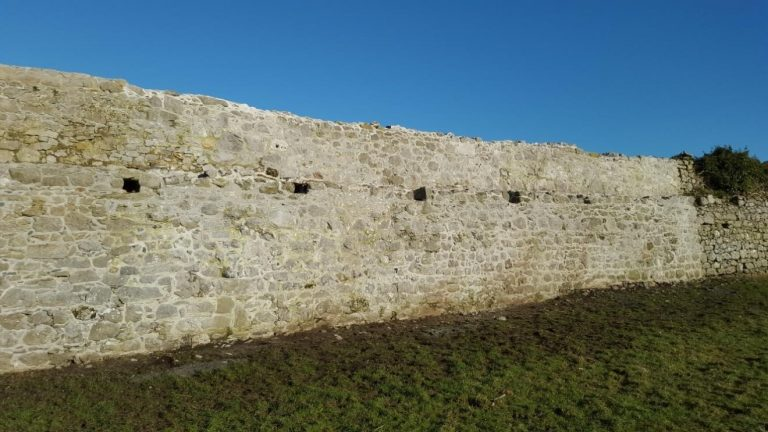 Conservation and Stabilisation works to the Town Wall at Rinn Duin, Co Roscommon 2016