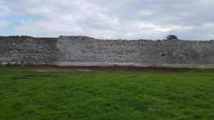 Conservation and Stabilisation works to the Town Wall at Rinn Duin, Co Roscommon 2017