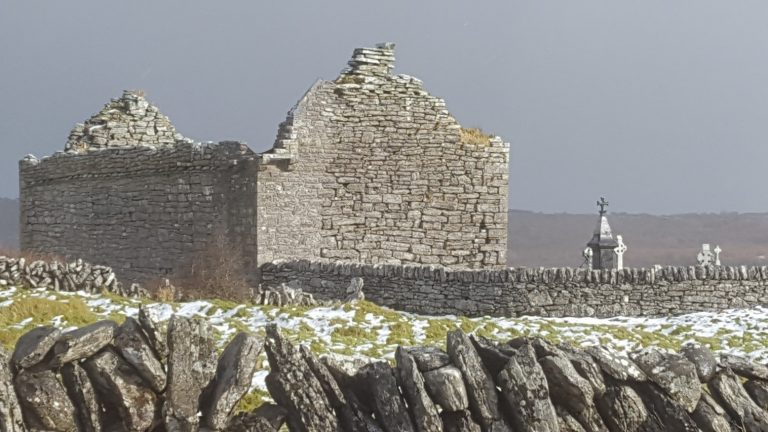 Emergency and Urgent works to Carran Church, Poulacarran, Co Clare