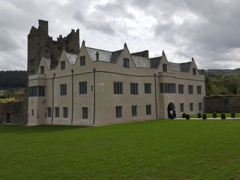 The re pointing and plastering of Ormond Castle, Carrick On Suir, Co Tipperary.
