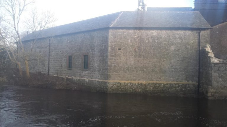 The Patch pointing and Masonry repairs to the Old Army Barracks