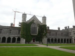 Quadrangle Building, National University of Ireland, Galway Conservation and restoration repairs by Mid West Lime