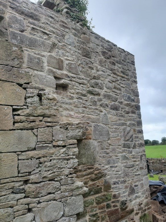 REPAIRS AND REMEDIAL WORK TO HISTORIC WALLS 2 - Mid West Lime