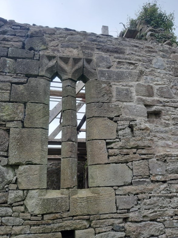 Repairs And Remedial Work To Historic Walls At Castletown Conyers Graveyard 2018/2019 by Mid West Lime Company