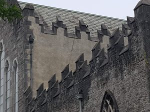 The Cleaning and Rendering of facades at St Marys Cathedral, Limerick Restoration by Mid West Lime
