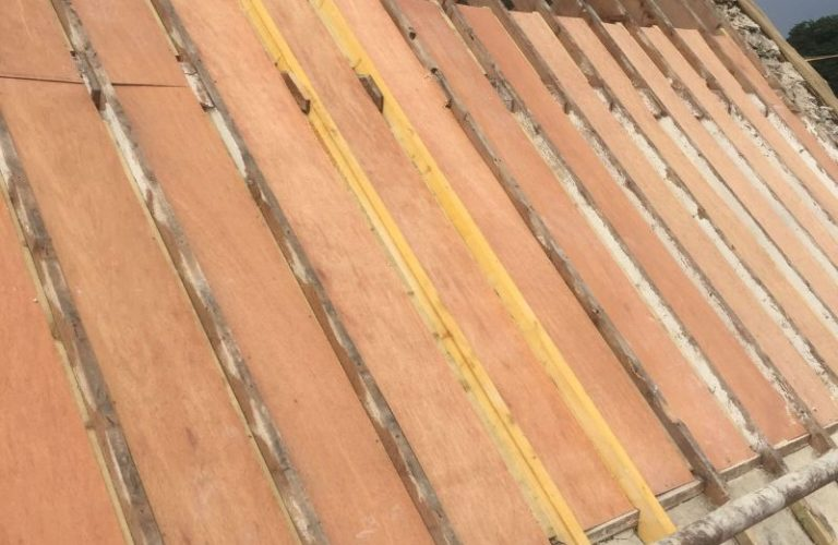 Construction of Broadford Roof